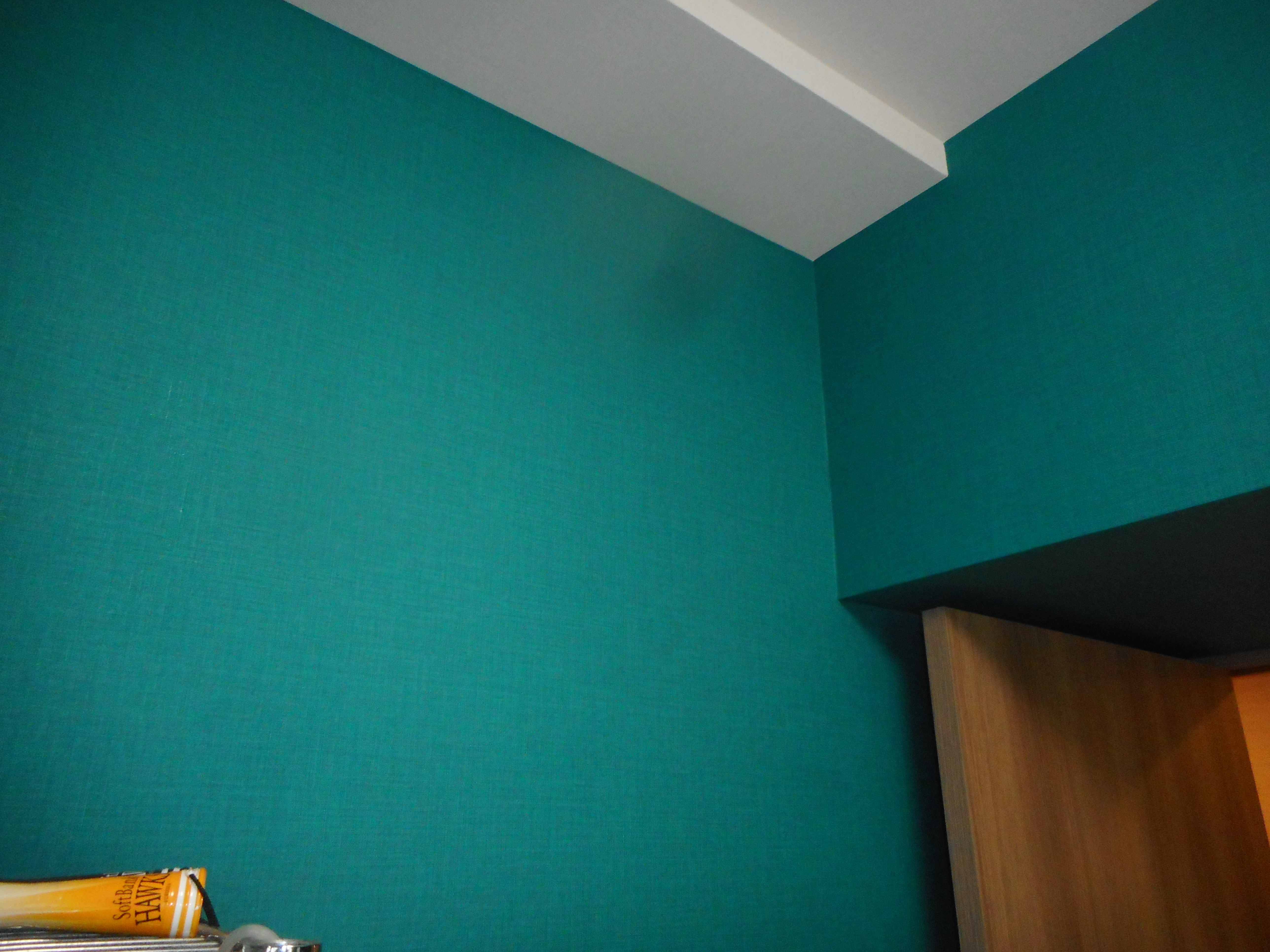 カラフルな寝室と書斎の壁紙リフォーム千葉市花見川区 千葉市 市